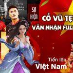 Game thủ chỉ cần cổ vũ U23 Việt Nam, không cần phải vào game mà vẫn nhận được full quà hoạt động?