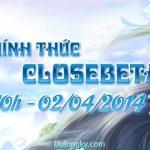 Giftcode Du Long Ký - Mừng Closed Beta vào ngày 02/04