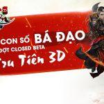 [Infographic] Nhìn lại những con số bá đạo của Tru Tiên 3D sau đợt Closed Beta