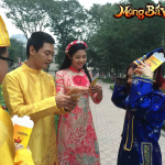[Giftcode] Clip MC Phan Anh va Hoa hậu Ngọc Hân chúc Tết cộng đồng Mộng Bá Vương