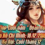 Đại Chiến Tam Quốc tổ chức Offline hoành tráng ở TP HCM và HN – Noel sớm cho cộng đồng game thủ.